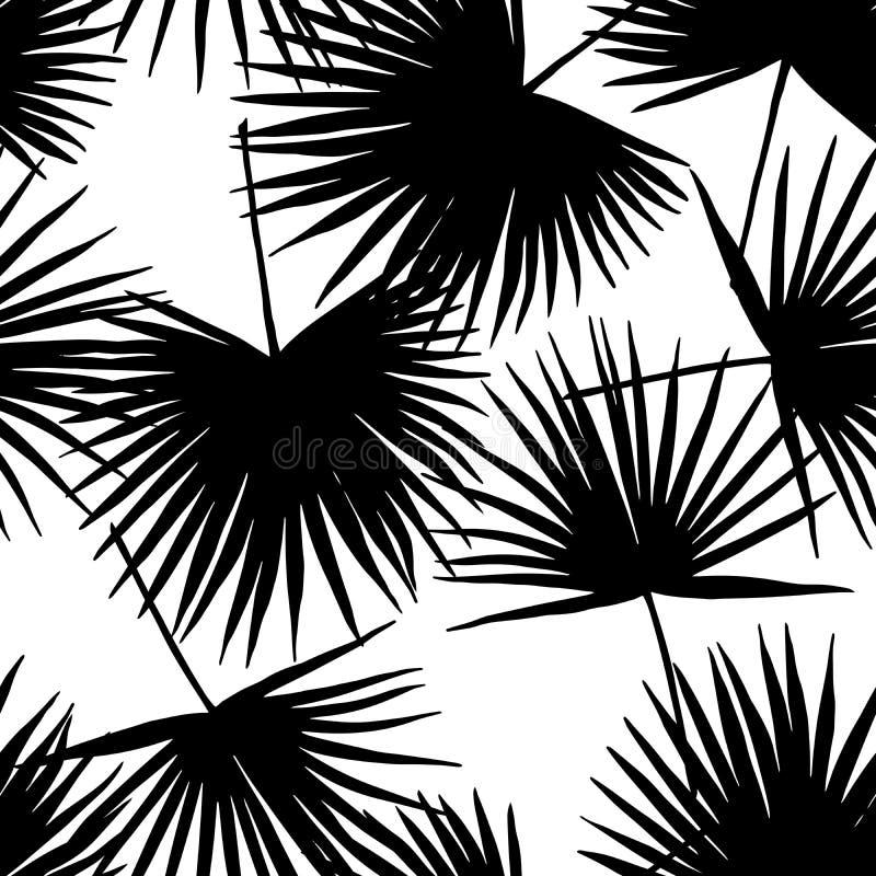 Palma opuszcza raju tło ilustracji
