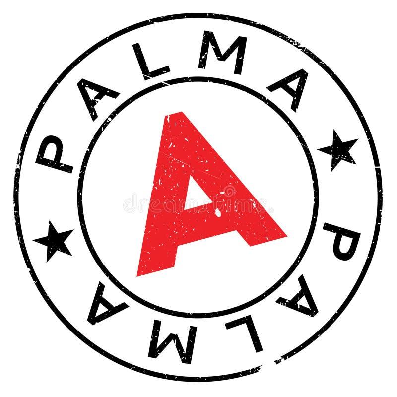 Palma znaczka gumy grunge ilustracji