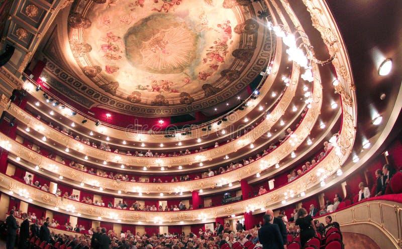 Palmade Mallorca belangrijkste theater stock foto