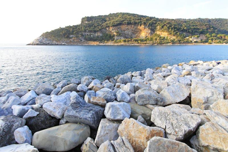 Palmaria island stock photo