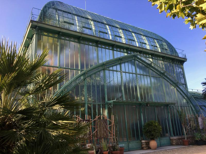 Download Jardin Des Serres D`Auteuil Botanical Garden In Bois De Boulogne  Stock Image
