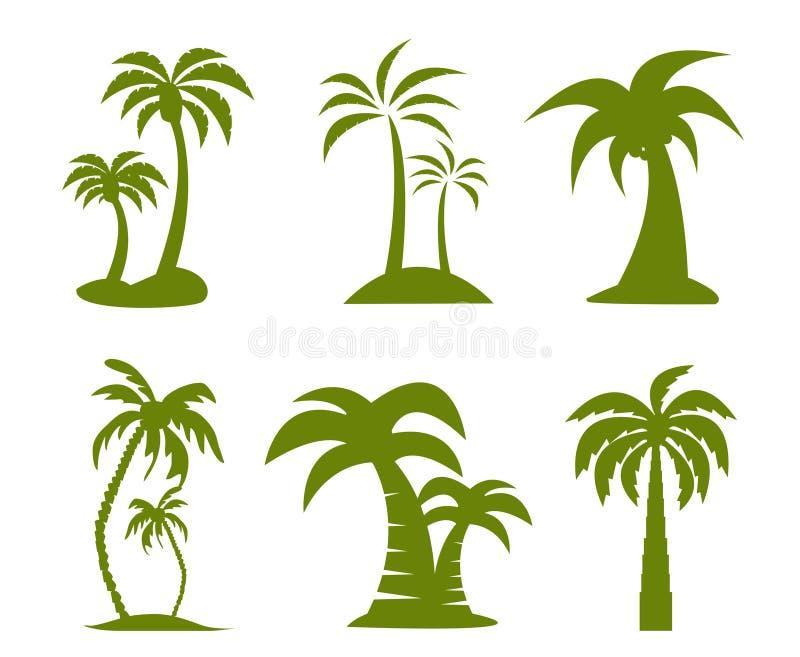 Palmbeeld vector illustratie