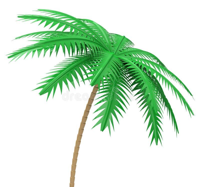 A palmeira ilustração stock