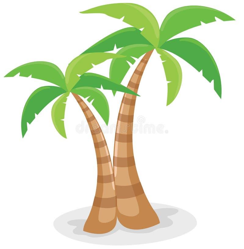 palmeiras ilustração do vetor
