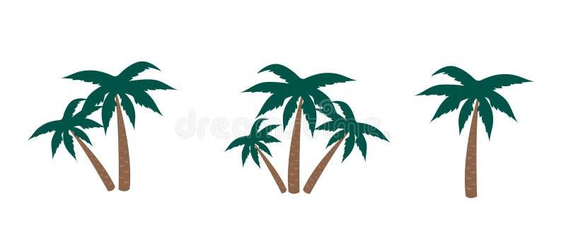 Palmen vector illustratie