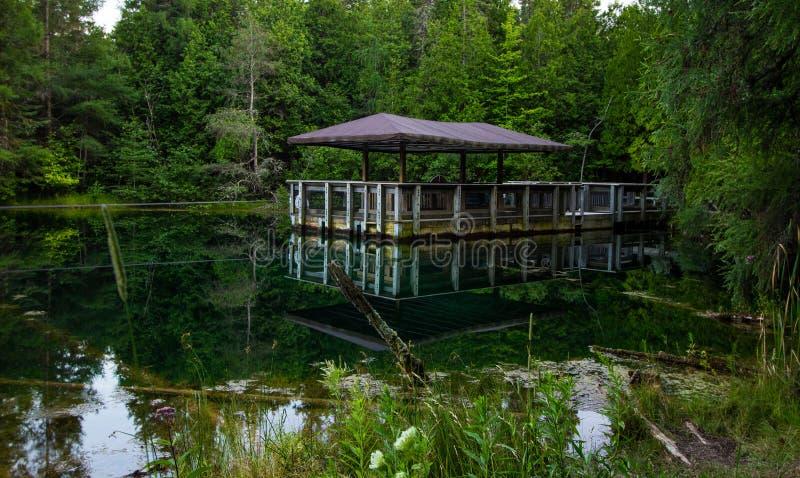 Palmen-Buch-Nationalpark in Michigan& x27; s-Oberleder-Halbinsel stockbild