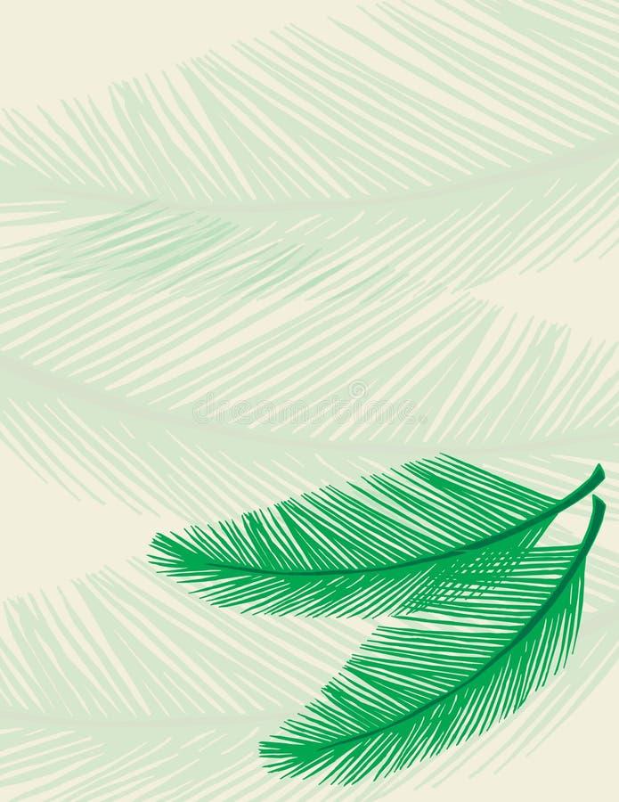 Palmen-Hintergrund lizenzfreie abbildung