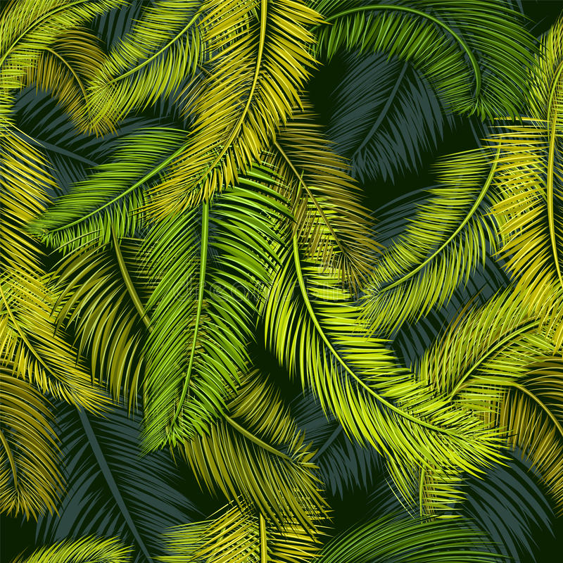 Palmenpatroon 4 vector illustratie