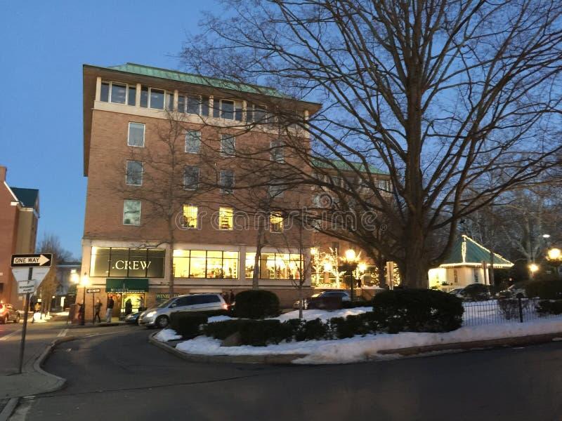 Palmer kwadrat w w centrum Princeton obraz royalty free