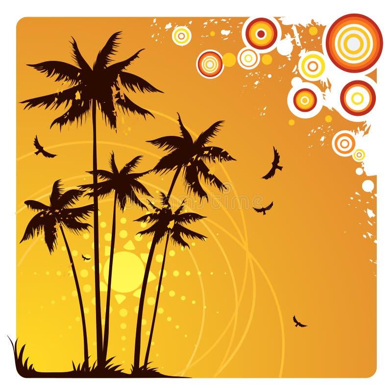Palmiers illustration stock