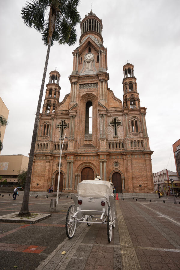 Palmira Colombia-Stadtzentrum lizenzfreies stockfoto