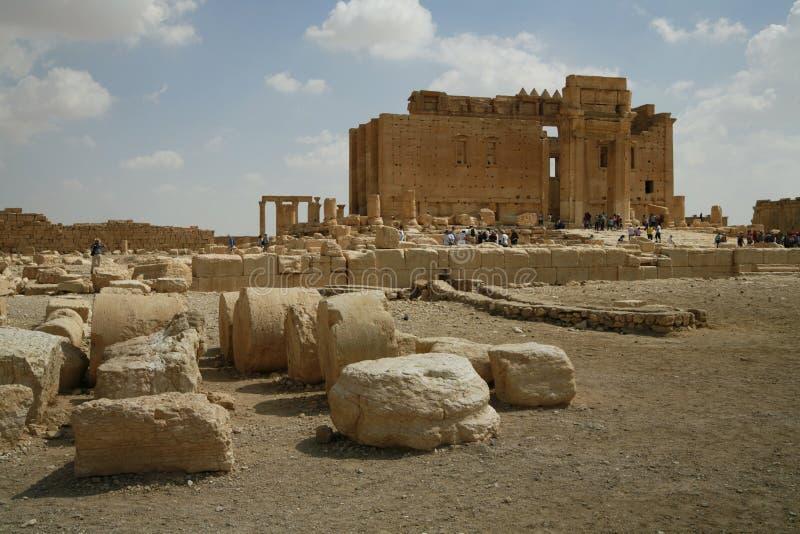 Palmira, Syrie photo stock