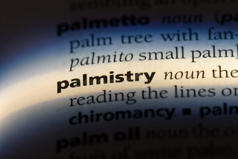 palmistry royalty-vrije stock fotografie