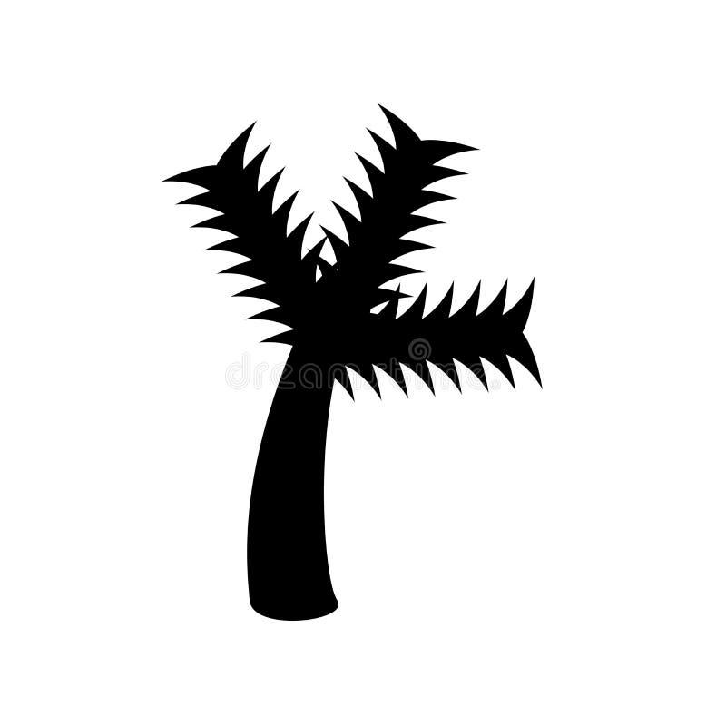 Palmowa ikona  royalty ilustracja