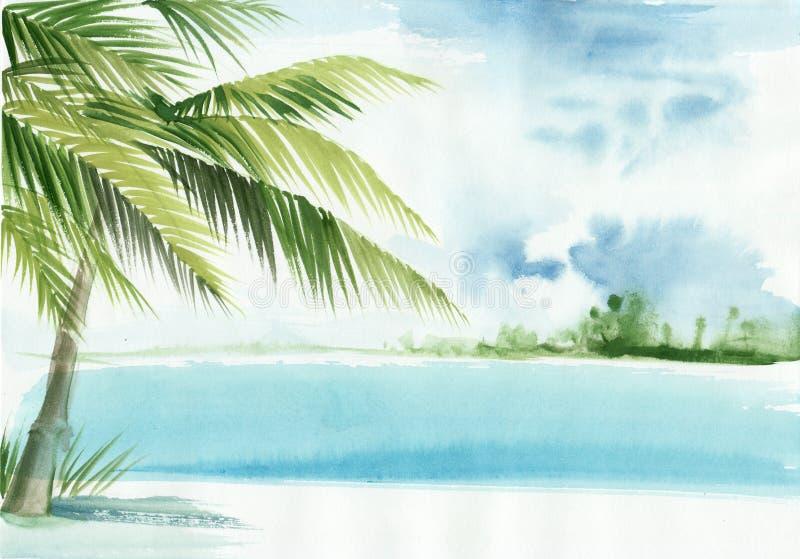 Palmowa miejscowość nadmorska