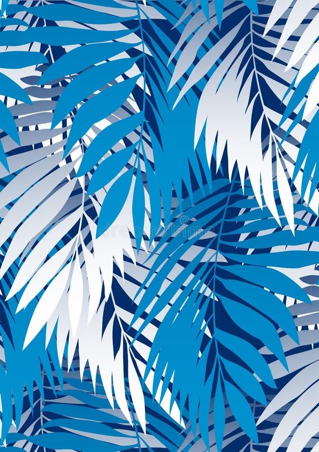 Palmowi liście royalty ilustracja