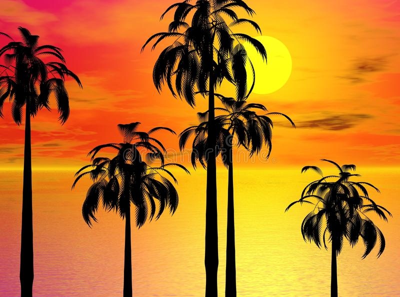 Download Palms stock illustration. Image of virtual, dramatic - 11176296