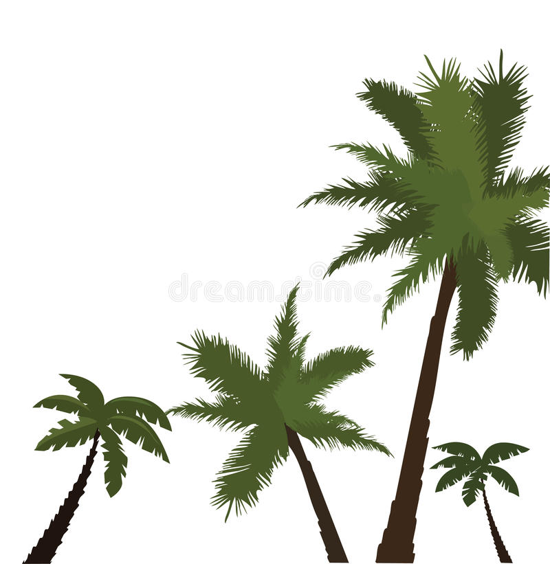 Download Palms stock vector. Illustration of modern, paint, natural - 24733190