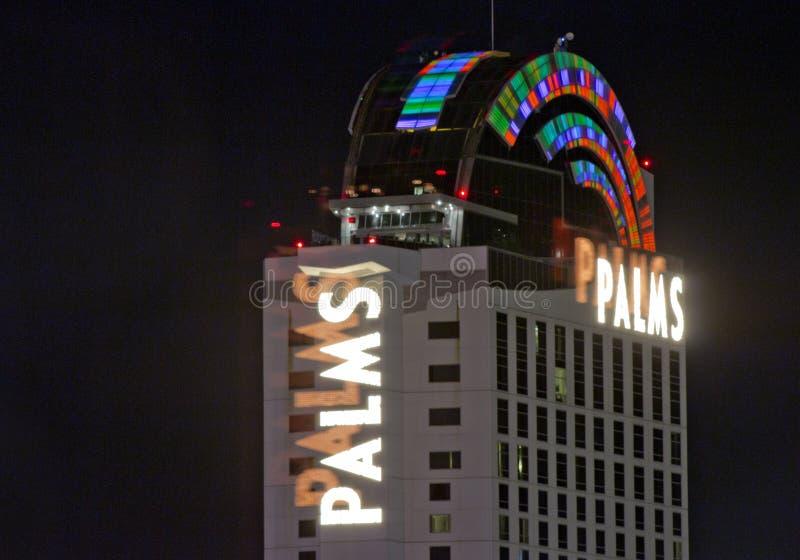 LAS VEGAS, NEVADA - Palms Casino Resort stock photos