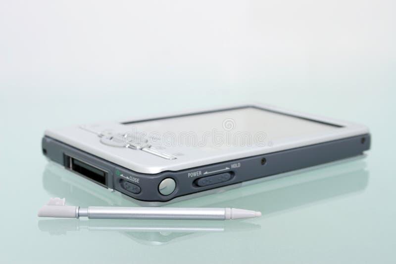 Palmtop et styliste (image 8.2mp) image libre de droits