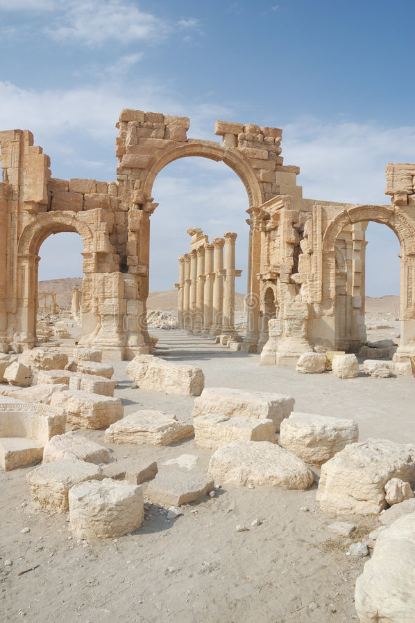 Palmyra imagem de stock