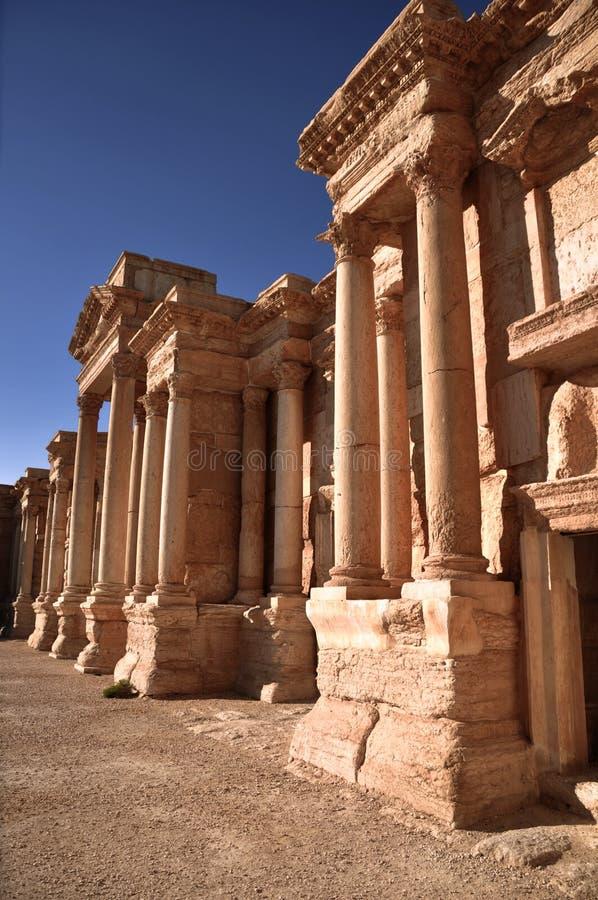 Palmyra, Siria fotografía de archivo