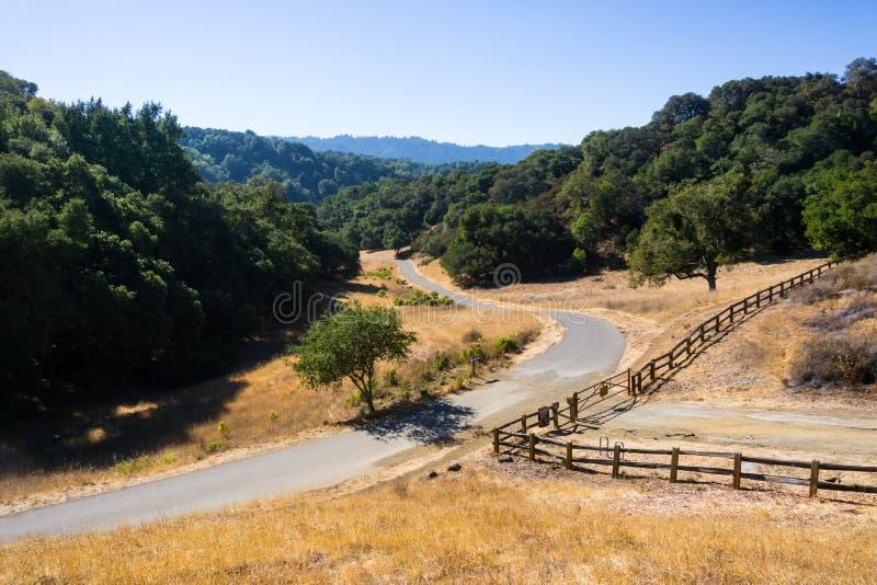 Palo Alto Foothills Park arkivfoton
