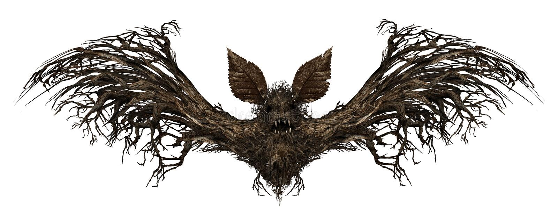 Palo del fantasma ilustración del vector