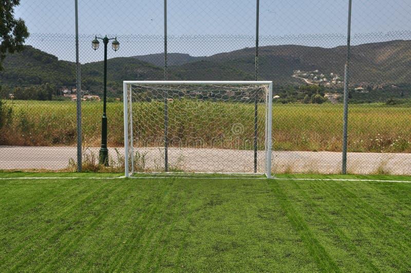 Palo di calcio fotografie stock