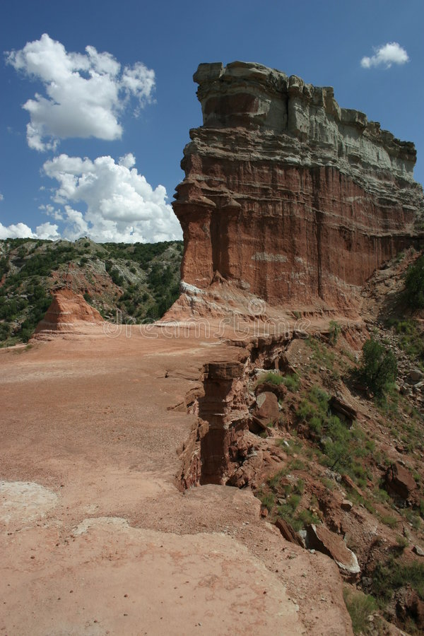 Palo duro Canyon royalty free stock images