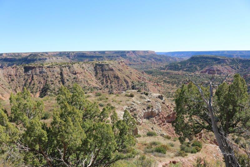 Palo Duro Canyon - 2 fotografia de stock