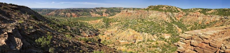 Palo Duro Canyon stockbild