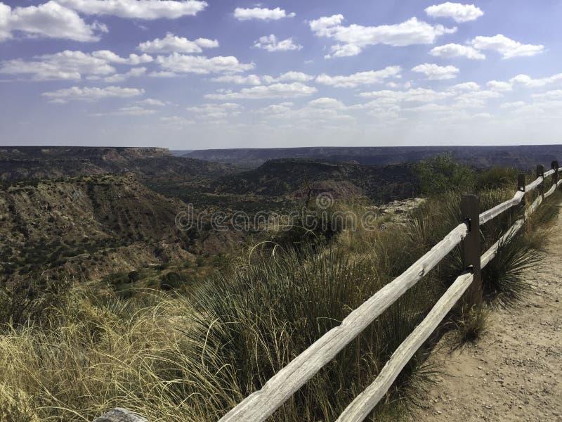 Palo Duro Canyon Texas stockfotos