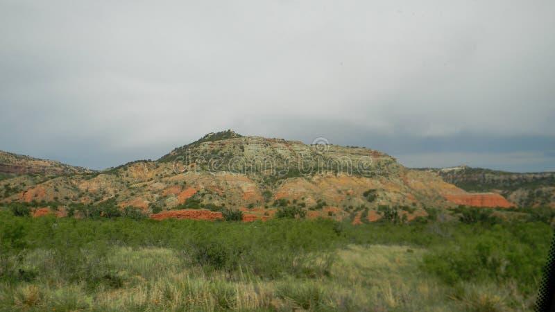 Palo Duro Mesa arkivbild