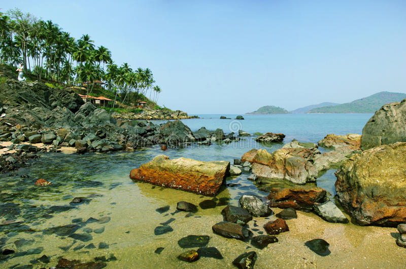 Download Palolem Beach Lagoon, Goa Royalty Free Stock Image - Image: 13777736