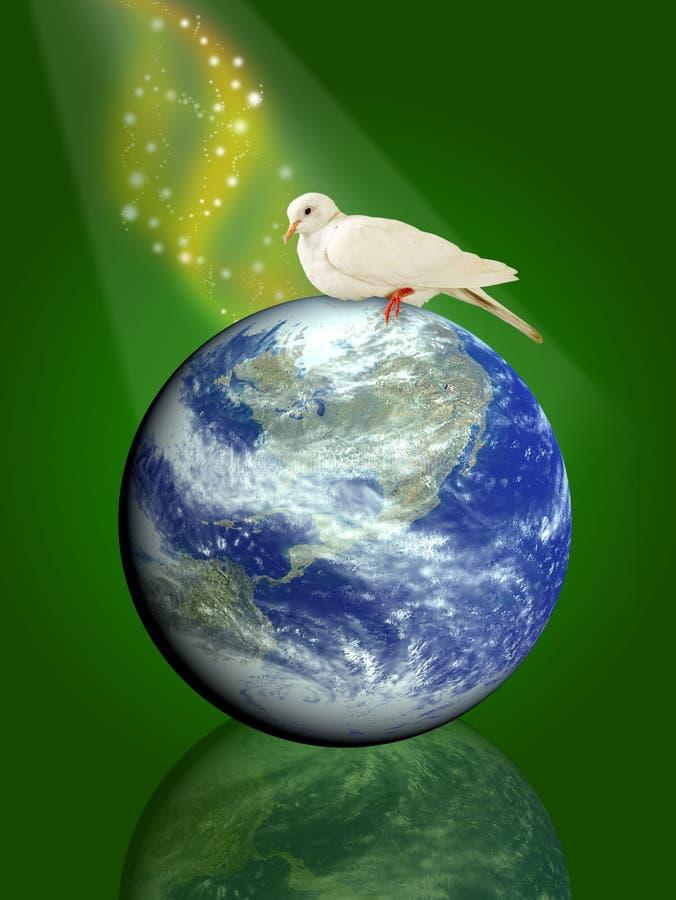 Paloma el pájaro de la paz libre illustration