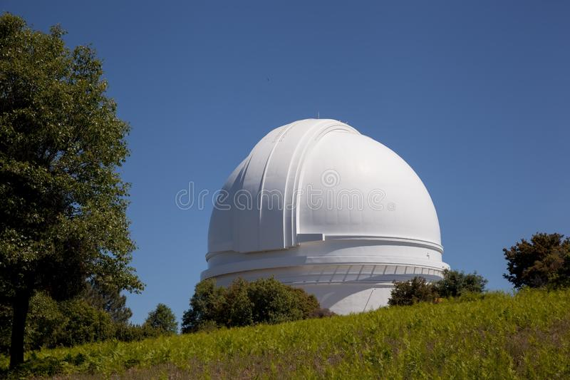 Palomar Mountain Observatory With Oak Royalty Free Stock Photography