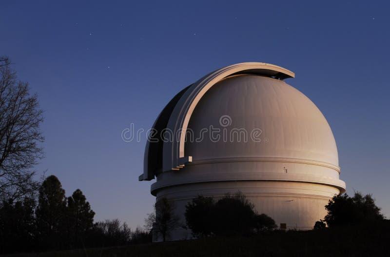 palomar mt-observatorium royaltyfri foto