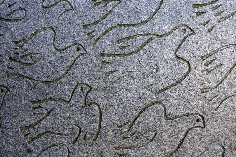 Palomas de la paz imagen de archivo