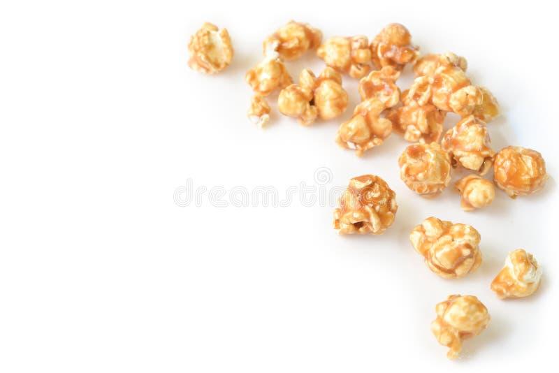 Palomitas del caramelo fotografía de archivo libre de regalías