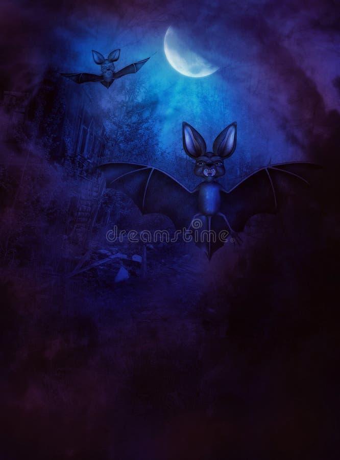 Download Palos de Halloween stock de ilustración. Ilustración de casa - 41903016