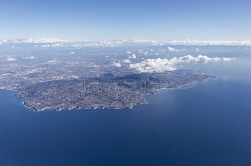 Palos Verdes Aerial imagem de stock royalty free