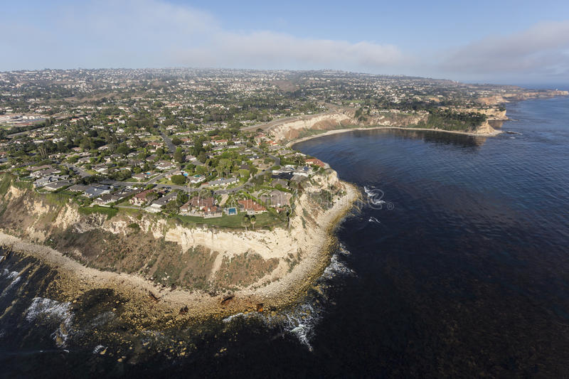 Palos Verdes California Coast arkivbilder