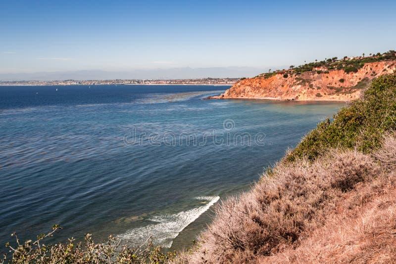 Palos Verdes Cliff lizenzfreies stockbild