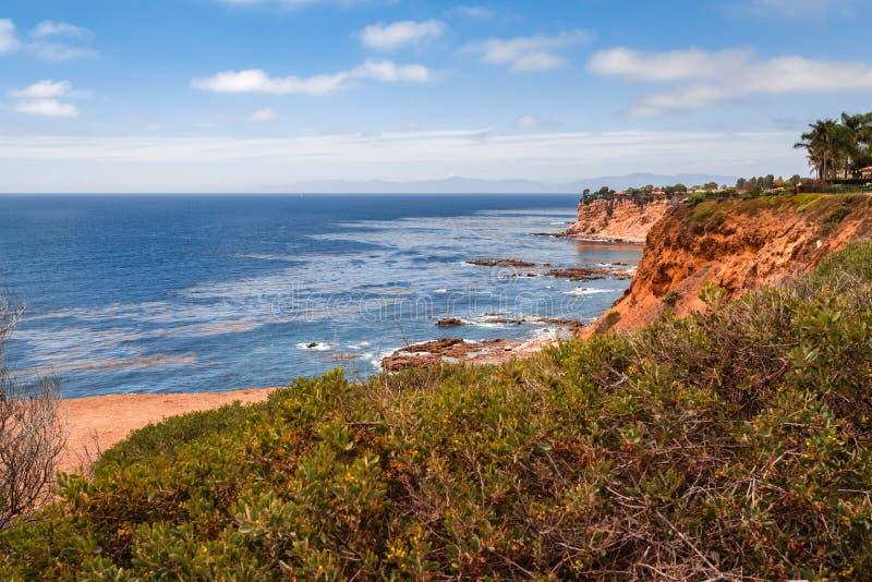 Palos Verdes Cliff lizenzfreie stockfotos