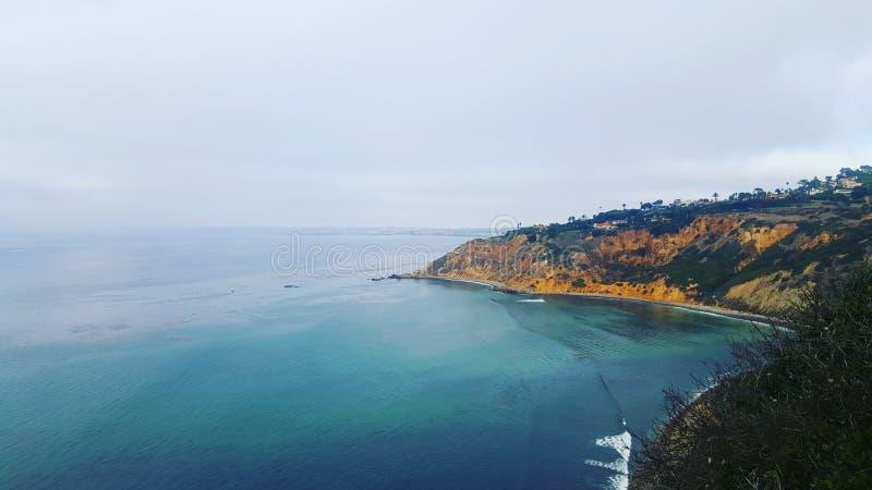 Palos Verdes Cliffs imagens de stock