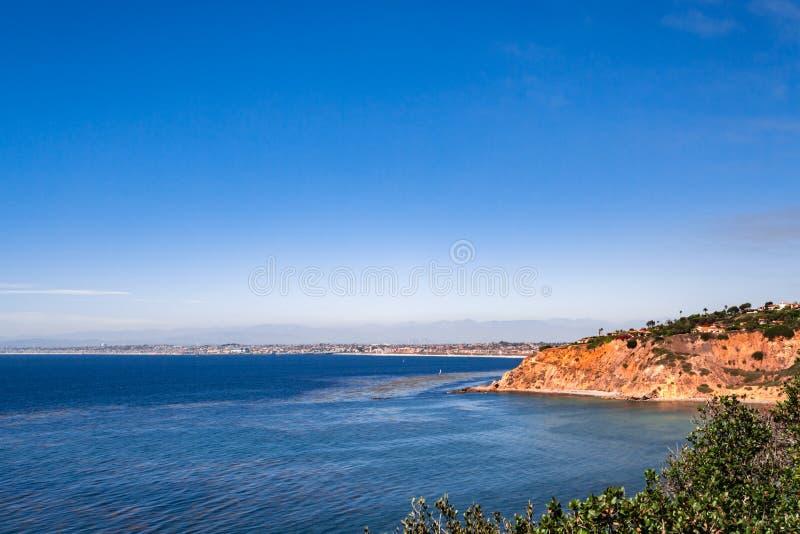 Palos Verdes Ocean View lizenzfreie stockfotografie