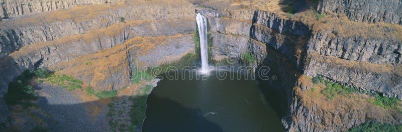 Palouse понижается парк штата, около Washtucna, Вашингтон стоковое фото rf