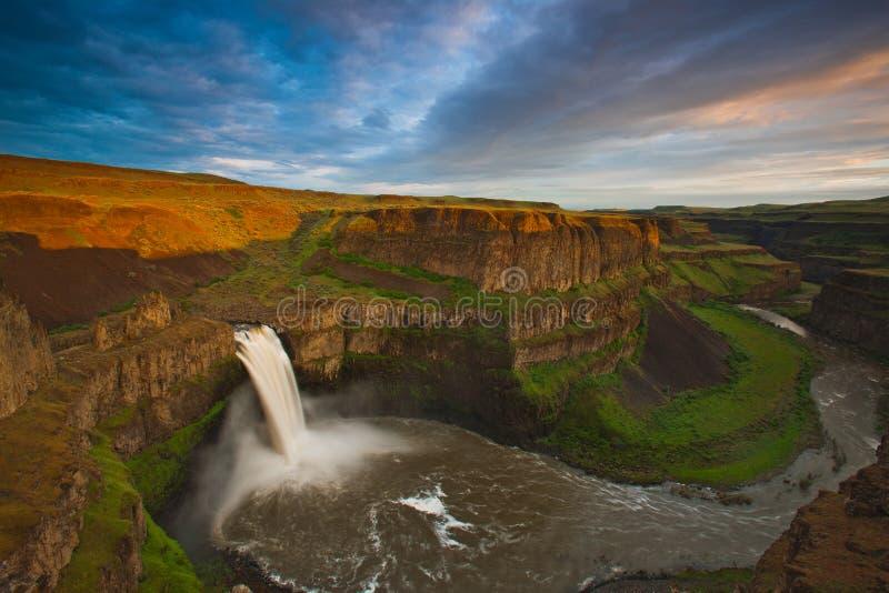 Palouse Falls, Washington royalty free stock images