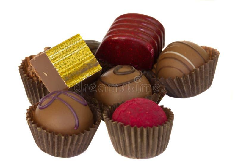 palowi czekolada cukierki zdjęcie stock